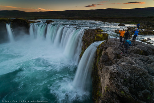 norðurlandeystra islandia godafoss iceland waterfall cascada north