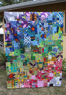 Magic Wax Print Quilt   by Everyday Fray