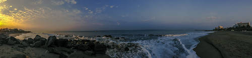 thanksgiving vacation panorama holiday beach sunrise mexico surf waves tide resort pacificocean dropbox iphone5 rivieranayarit