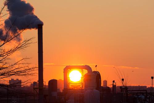 morning industry sunrise newjersey unitedstates teterboro hasbrouckheights bendix