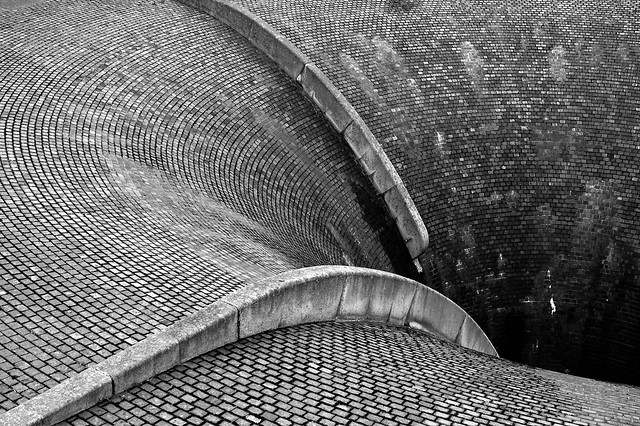 Glory Hole Spillway at Silent Valley