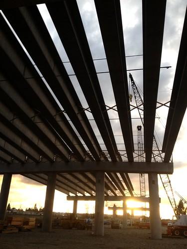 sunset bridges girders hs scip salmoncreekinterchangeproject