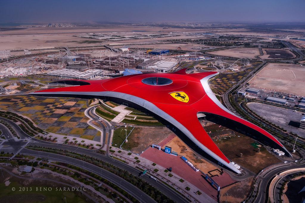 Fastest Roller Coaster In The World >> Ferrari World - Yas Island | Ferrari World is a Ferrari them… | Flickr