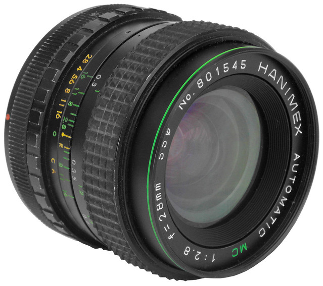 Hanimex automatic MC 2.8/28 mm