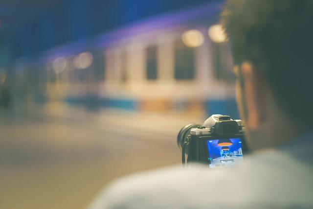 Bokeh - capturing Das Stadtkind