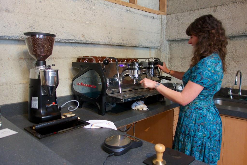 Sightglass Coffee Top Bar Espresso Espresso Setup A Pour Flickr