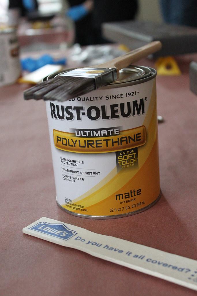 Rust-Oleum Ultimate Polyurethane - Matte Finish | Rust Oleum