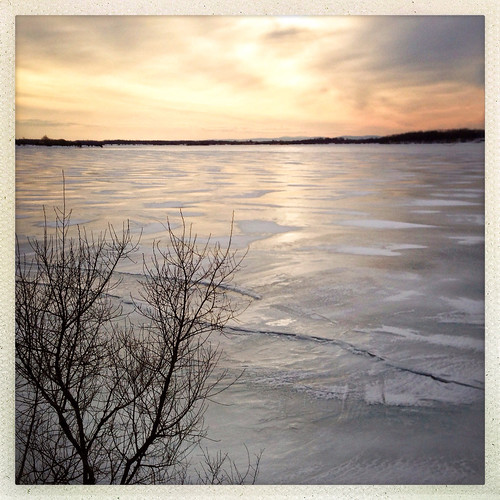 winter ontario canada ice sunrise river cornwall february day50 stlawrenceriver iphone day50365 iphoneography hipstamatic 3652013 365the2013edition 19feb13