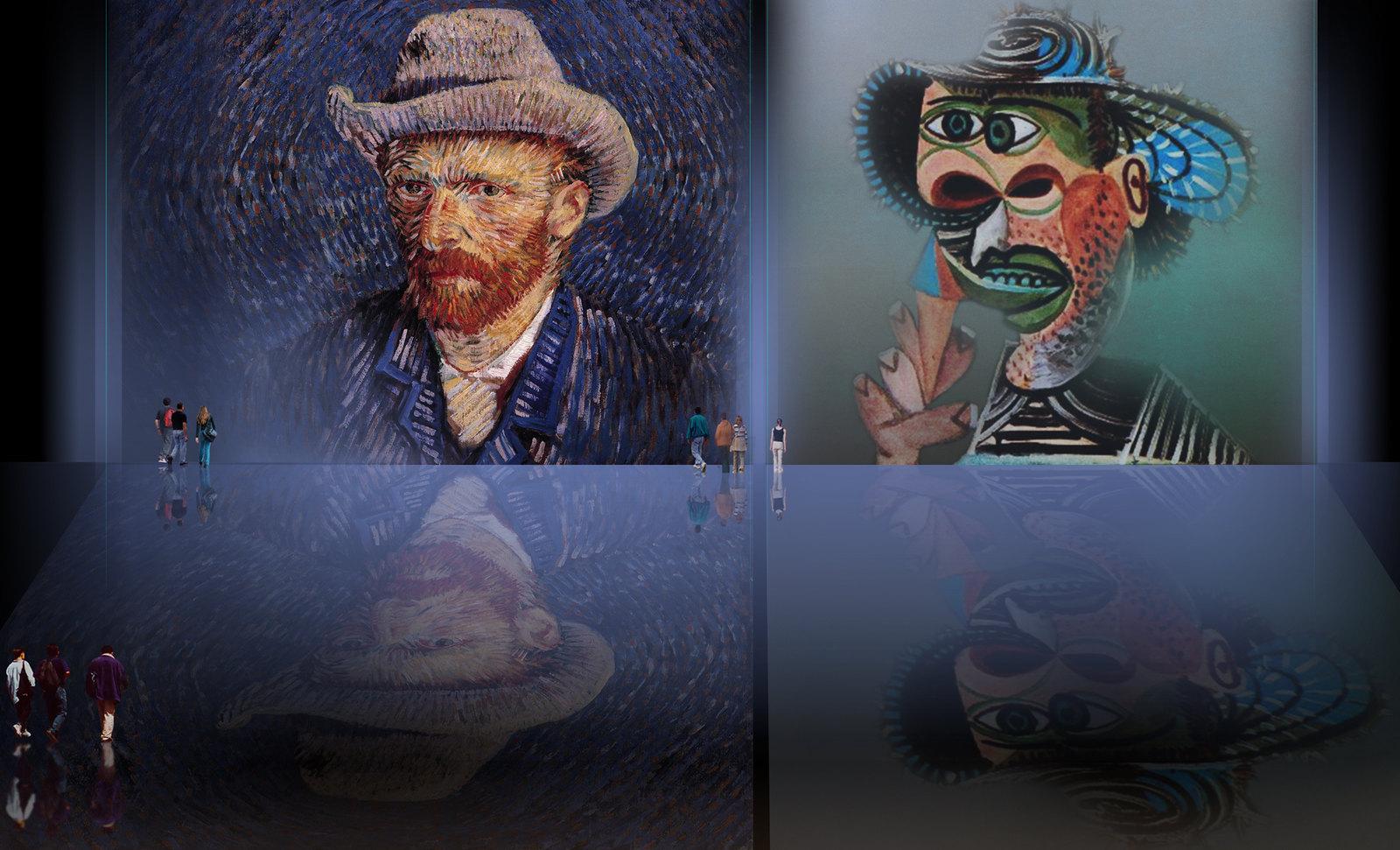75van Gogh_Picasso