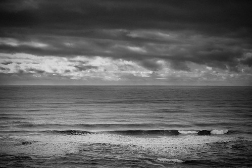 The Pacific. Overcast, and warmer than it looks. | by tehgipster