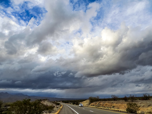 road trip winter arizona sky nature clouds canon landscape outdoors driving unitedstates northwest january powershot sonorandesert mojavedesert hwy93 highway93 az93 sx260