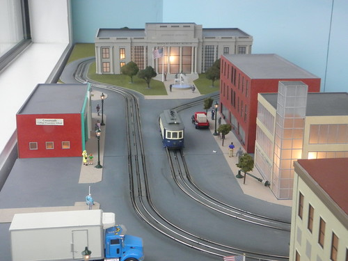 Model for Delmar Loop Trolley Window Display | by theneonheart