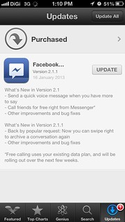 Facebook Messenger with VoIP | by szehau