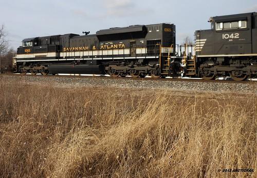 railroad atlanta heritage train ns norfolk indiana rail railway trains southern rails savannah muncie unit in