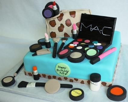 ... MAC Makeup Birthday Cake Patty | by Jeanne AJ's Moonlight Bakery