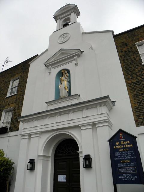 GOC Hampstead 023: St Mary's Catholic Church, Holly Place, Hampstead