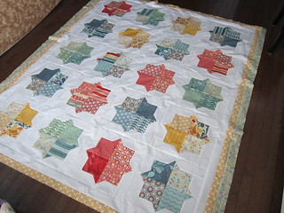 Smitten Quilt Top | by Everyday Fray