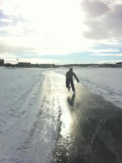 Ice Skating on Prairies