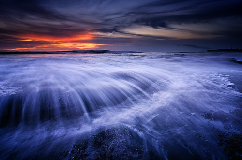 blue sunset sea bali sun seascape motion water indonesia landscape nikon streak lima wave tokina filter lee nd graduated waterscape gnd canggu seseh 1116mm pererenan d7000