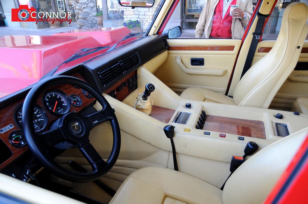Lamborghini Lm002 Interior 1 5 13 Car Show O Connor Photo Flickr