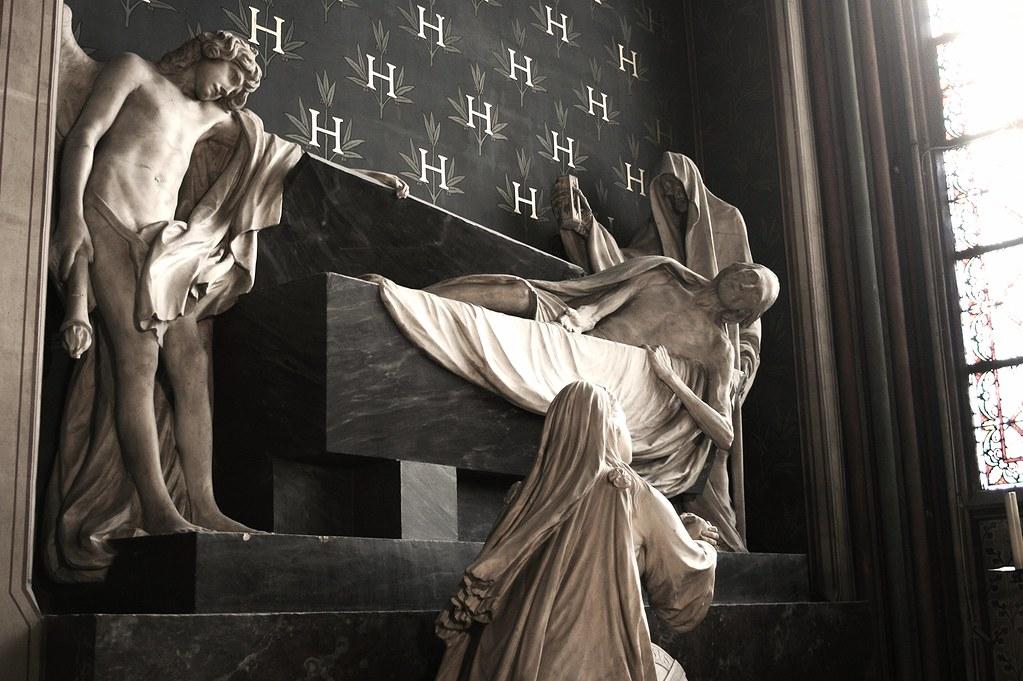 Tomb of the Duc d'Harcourt, Notre Dame, Paris