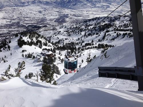 Top of Snowbasin Tram After Snowy Weekend | by pauljoelhancock