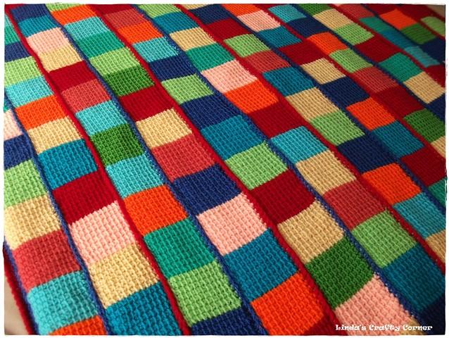 Tunisian Crochet Afghan Pattern Lindacraftycornerblogspot Flickr