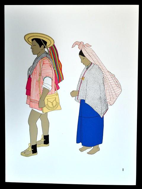 Maya Couple Zinacantan