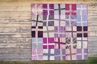 Wonky Cross Quilt | by make_something