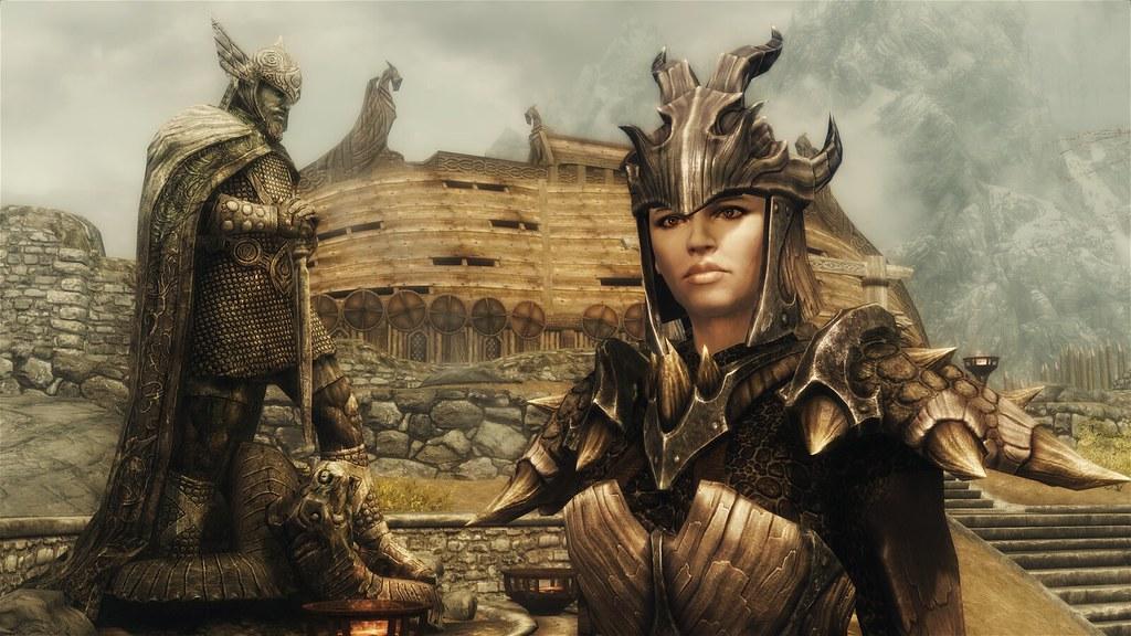 The Elder Scrolls V Tesv Skyrim 1080p Wallpaper 10 Female