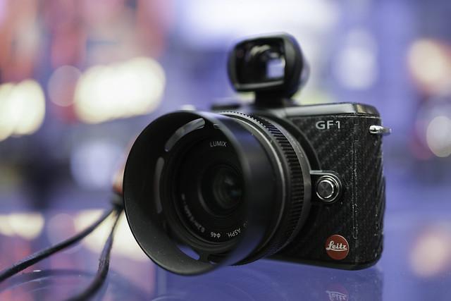 Panasonic GF1 w/ 20mm 1.7 - Pimped Edition - Bokeh