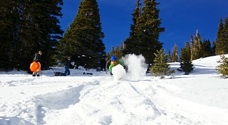 Sleddin in the Backcountry | by Zach Dischner