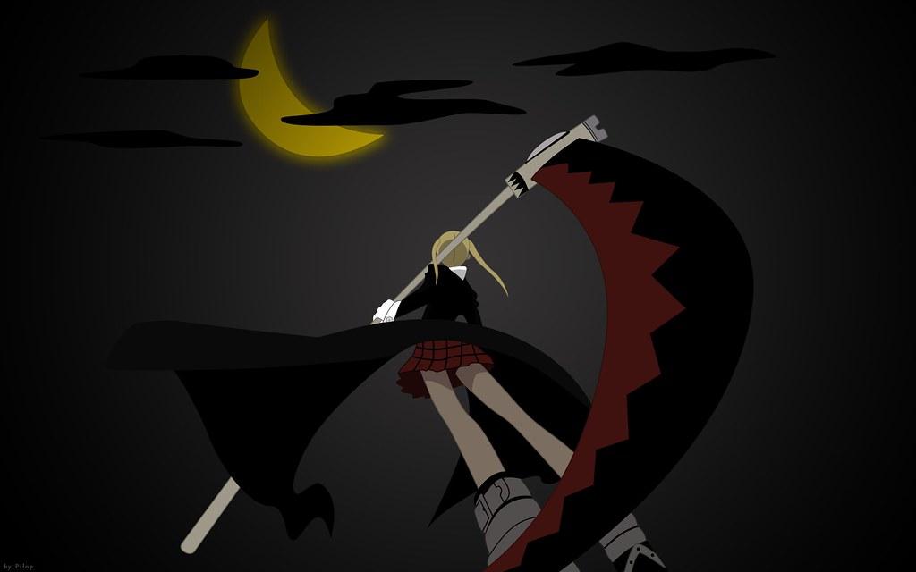 ... e-shuushuu.net - 170584 - Soul Eater - Maka Albarn - moon,