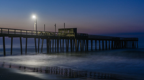 beachsunrise beach sunrise dawn jerseyshore newjersey avalon avalonnj fishingpier