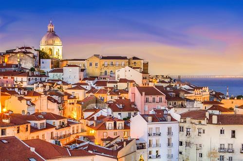 lisbon sunset portugal ngc