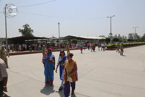 View of Satsang venue
