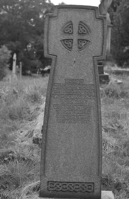 The grave of General Sir Beauchamp Duff