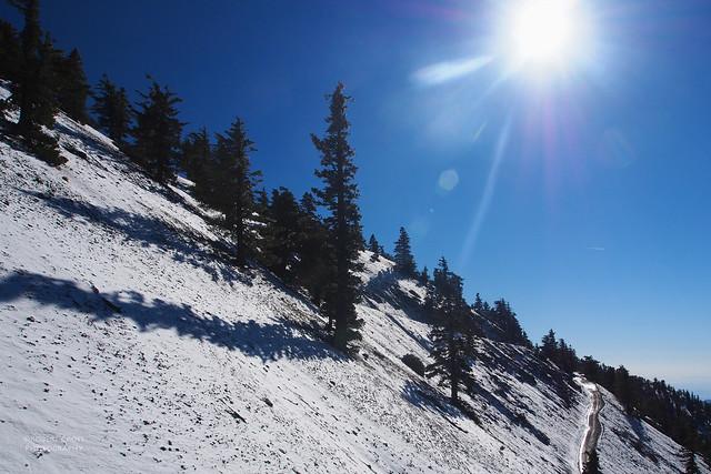 Bluebird day at Mt. Baldy