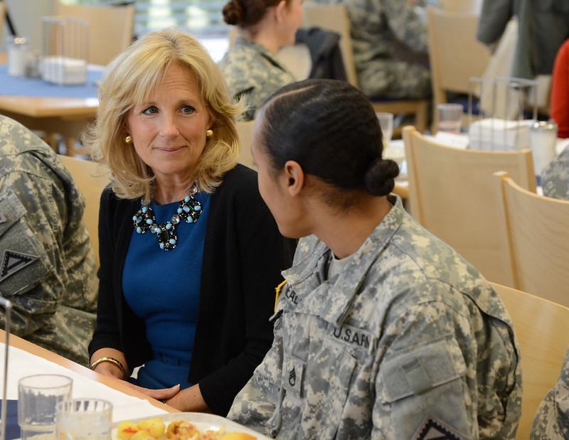 Dr. Jill Biden visit