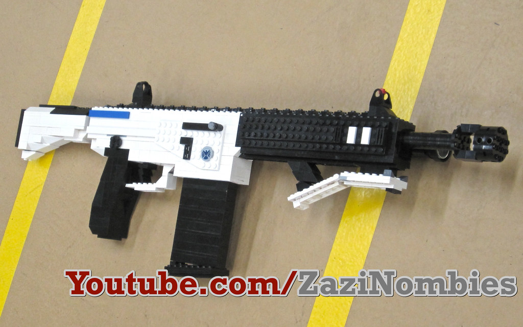 Peacekeeper SMG | The Peacekeeper from Black Ops 2 from LEGO