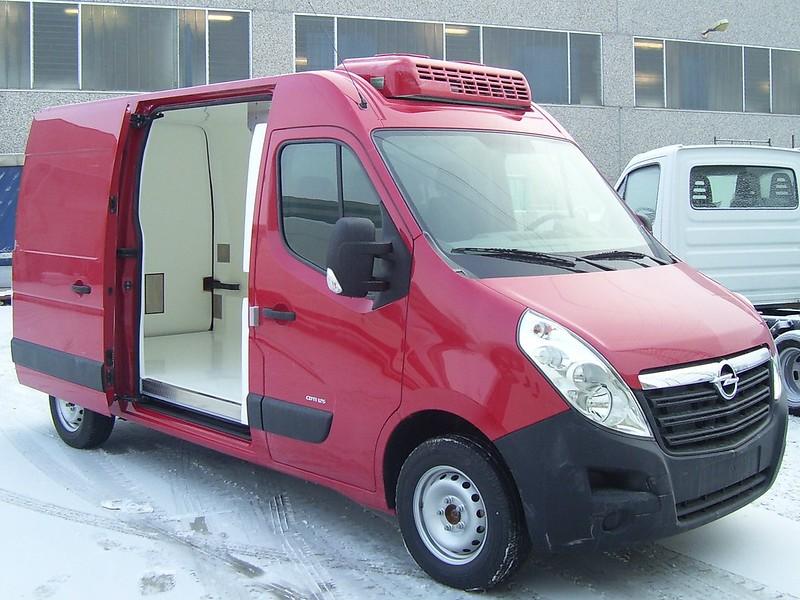 Термоизолация + хладилен агрегат за Opel