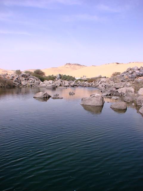 The Nile Catract  - Aswan , Egypt