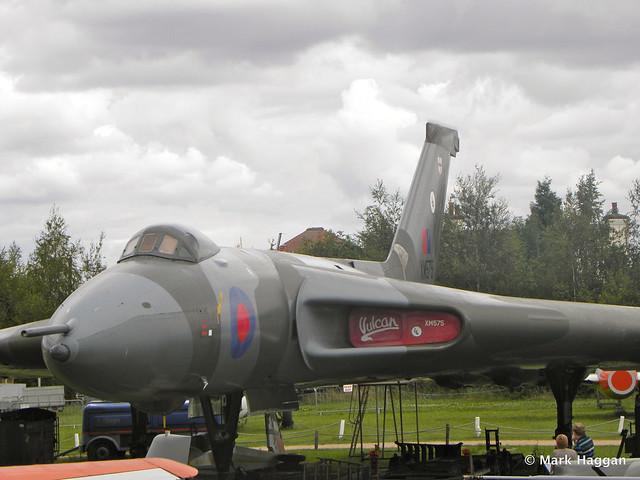 Avro Vulcan XM575 at Donington AeroPark
