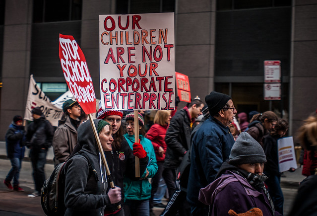 Our children are not your corporate enterprise