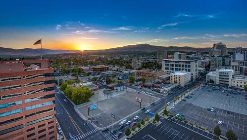 hdr reno sunset nevada smokey fire city landscape colors blue outdoor highdynamicrange