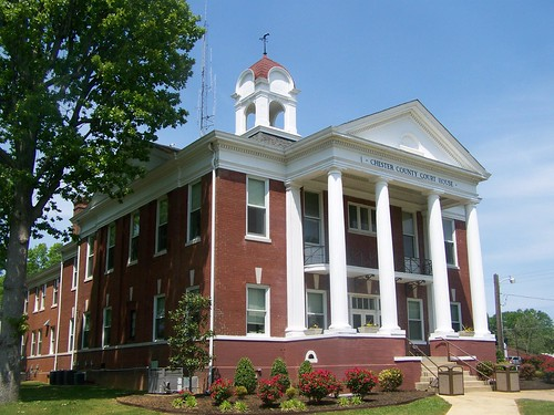 tennessee courthouse henderson courthouses chestercounty countycourthouse nationalregister nationalregisterofhistoricplaces us45 uscctnchester