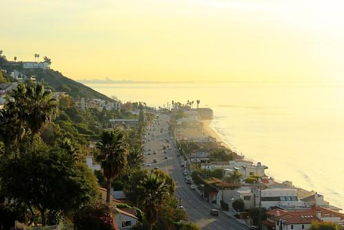california road ca usa america sunrise la losangeles pacific malibu pch socal westcoast pacificcoasthighway laist canoneos600 losangelesview mygearandme ericdemarcq
