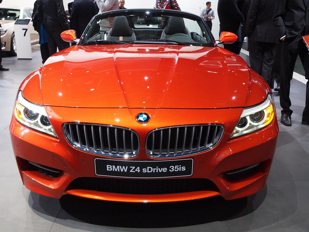 2014 Bmw Z4 Convertible 2014 Bmw Z4 Convertible At 2013 Na Flickr