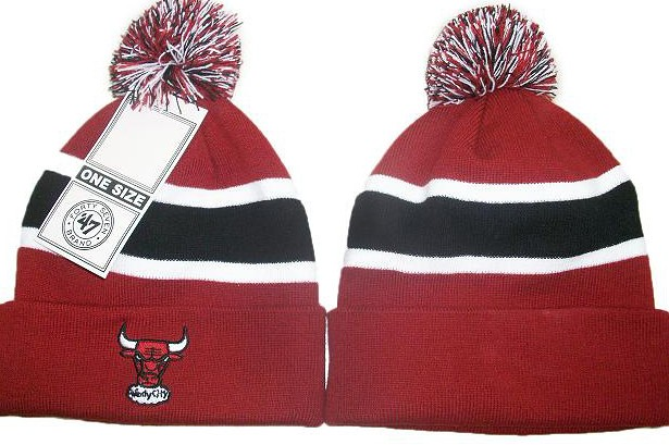 7f405d05 47 Brand Chicago Bulls Beanies Hats Pom Knit Caps Breakawa… | Flickr