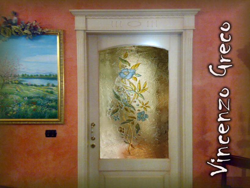 vetrate artistiche per porte interne in vetrofusine   Flickr